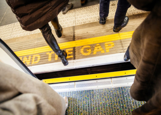Mind the Gap - Exiting Train
